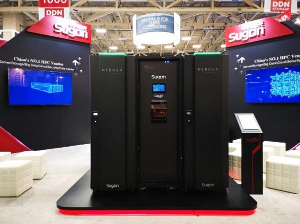 中科曙光在SC18上推出新一代硅立方高性能计算机
