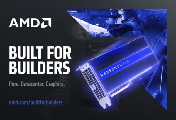 AMD发布Radeon Pro显卡实现云数据中心高端图形可视化