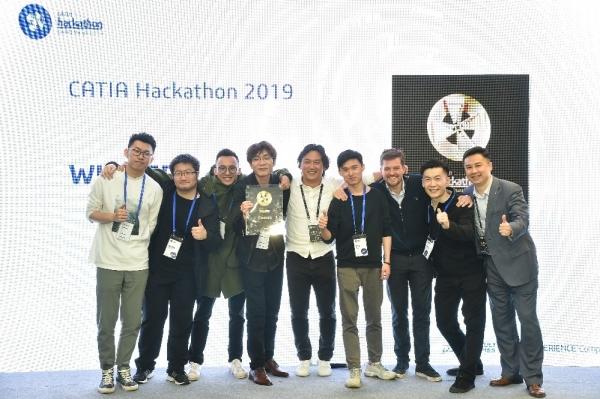 达索系统2019 CATIA Hackathon大赛完美收官