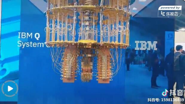 IBM此前在CES上展示的IBM Q System One