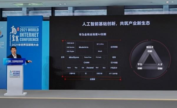华为云亮相2021世界互联网大会 提出人工智能创新三要素