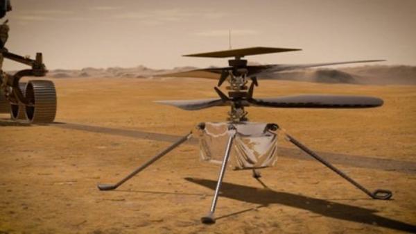采用高通Snapdragon Flight平台的无人直升机搭载于毅力号探测器,成功着陆火星