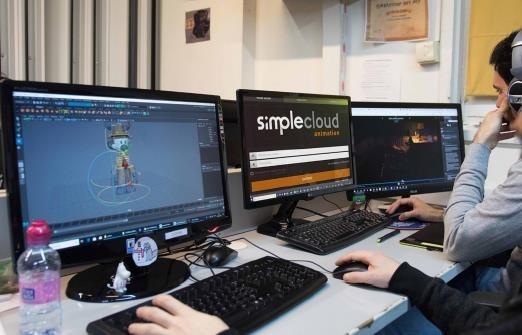 ESDIP动画工作室:一家小型工作室通过基于云的协作创作大型动画电影