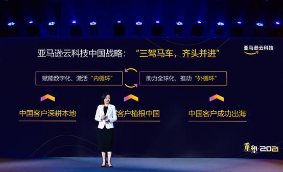 """亚马逊云科技快马加鞭,""""三驾马车""""的中国战略"""