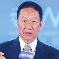 Terry Kuo, Chairman, Foxconn Technology Group Intelligent Manufacturing + Digital Economy = Industrial Internet
